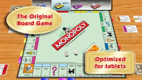 Capture d'écran Monopoly iOs