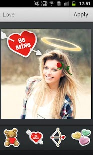 Capture d'écran Aviary Stickers: Love