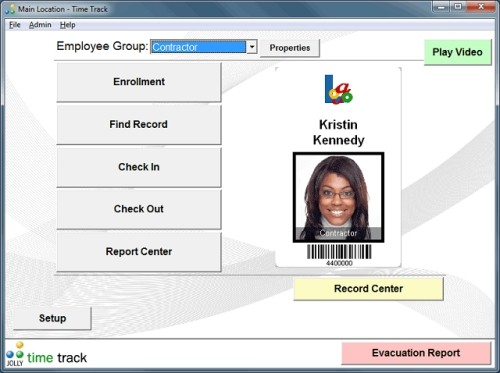 Capture d'écran Time Track Employee Time Tracking