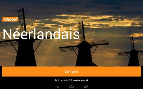 Capture d'écran Apprendre le néerlandais