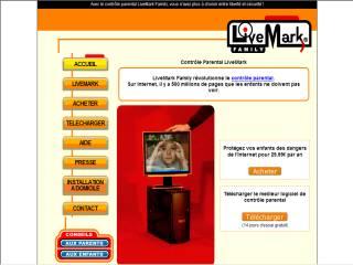 Capture d'écran LiveMark Family