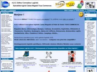 Capture d'écran A2GI – GESTION
