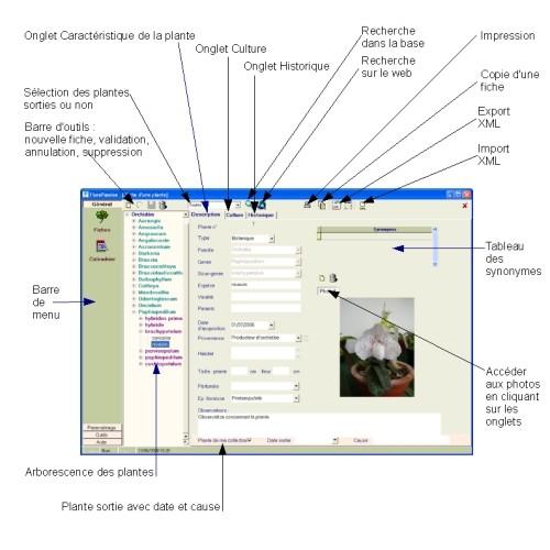Capture d'écran FlorePassion