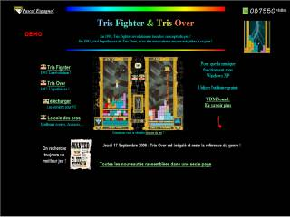 Capture d'écran Tris Fighter