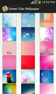 Capture d'écran Sweet Wallpaper for Whatsapp