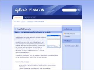 Capture d'écran OneClickLaunch