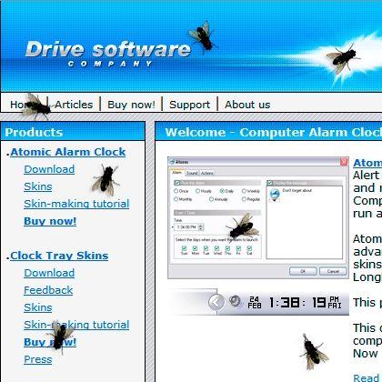 Capture d'écran Fly on Desktop Screensaver
