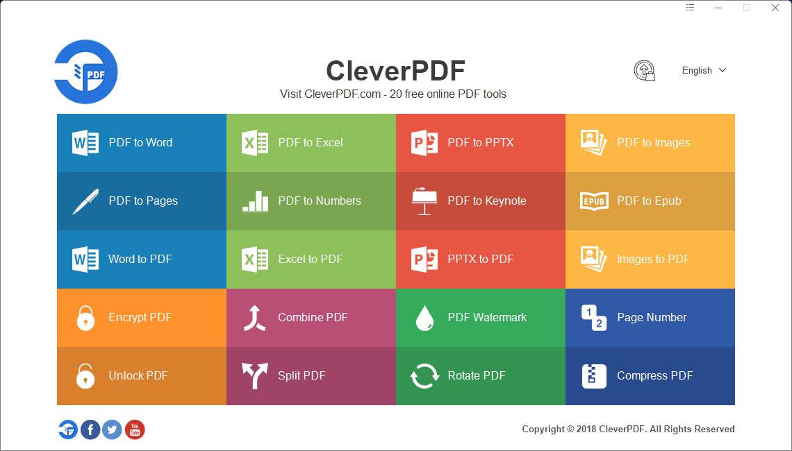 Capture d'écran CleverPDF