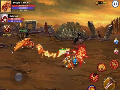 Capture d'écran Heroes Of War:Sword Legend