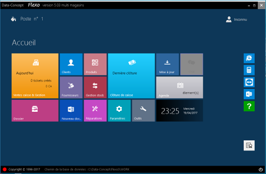 Capture d'écran Flexo 5