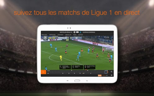 Capture d'écran Ligue 1
