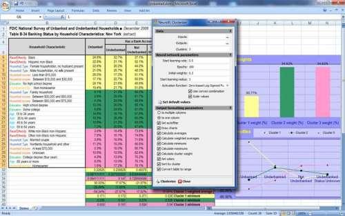 Capture d'écran NeuroXL Clusterizer