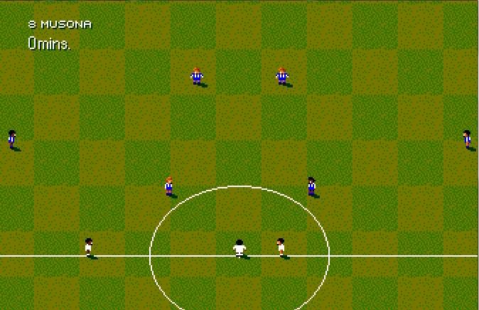 Capture d'écran Sensible World of soccer