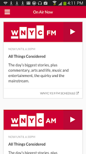 Capture d'écran WNYC