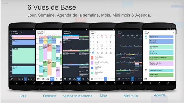 Capture d'écran Tiny Calendar Android