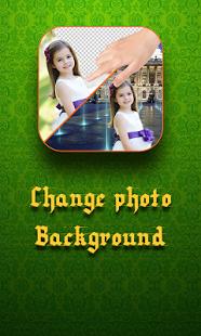Capture d'écran Change photo background