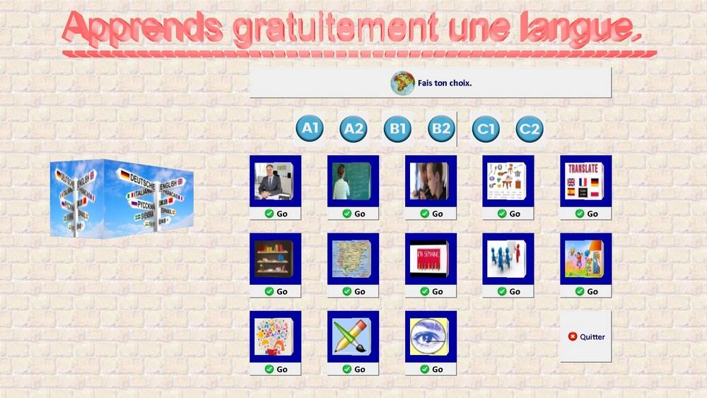 Capture d'écran Euro-School