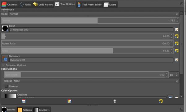 Capture d'écran GIMPShop