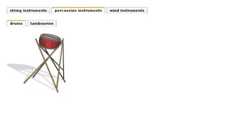 Capture d'écran ApPHP Tabs – PHP Tab Menu Control