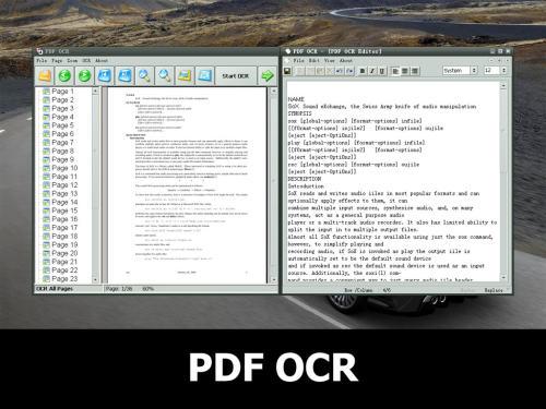 Capture d'écran PDF OCR