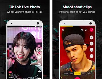 Capture d'écran TikTok Lite Android