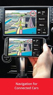 Capture d'écran Sygic Car Navigation