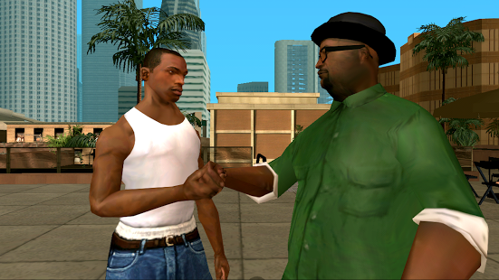 Capture d'écran Grand Theft Auto: San Andreas
