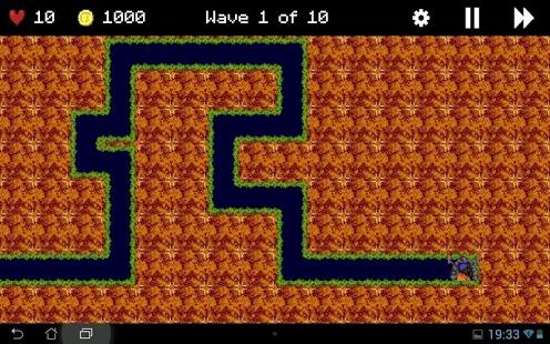 Capture d'écran Lemmings Defense