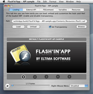 Capture d'écran Flash'In'App