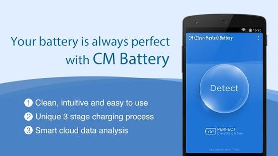 Capture d'écran CM Battery