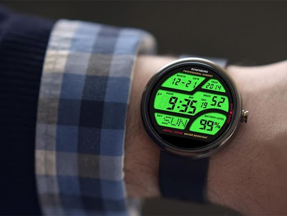 Capture d'écran A41 WatchFace for Moto 360
