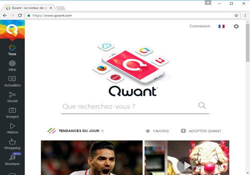 Capture d'écran Iridium Browser