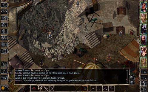 Capture d'écran Baldur's Gate II