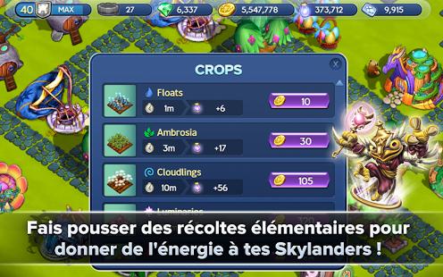 Capture d'écran Skylanders Lost Islands Android