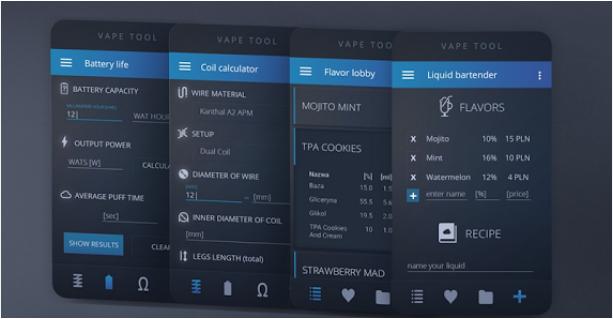 Capture d'écran Vape Tool Android
