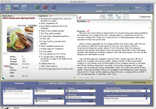 Capture d'écran CookWare Deluxe