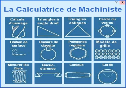 Capture d'écran La Calculatrice de Machiniste 2.0.0