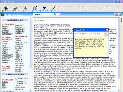Capture d'écran BibleGratuite