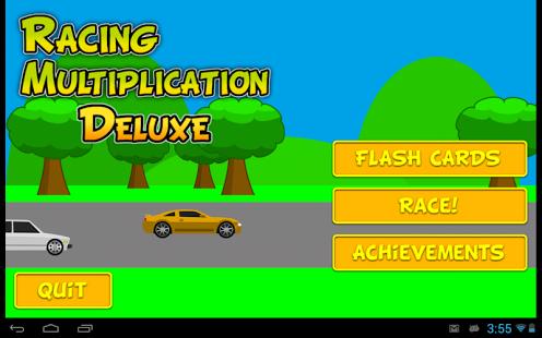 Capture d'écran Racing Multiplication Deluxe