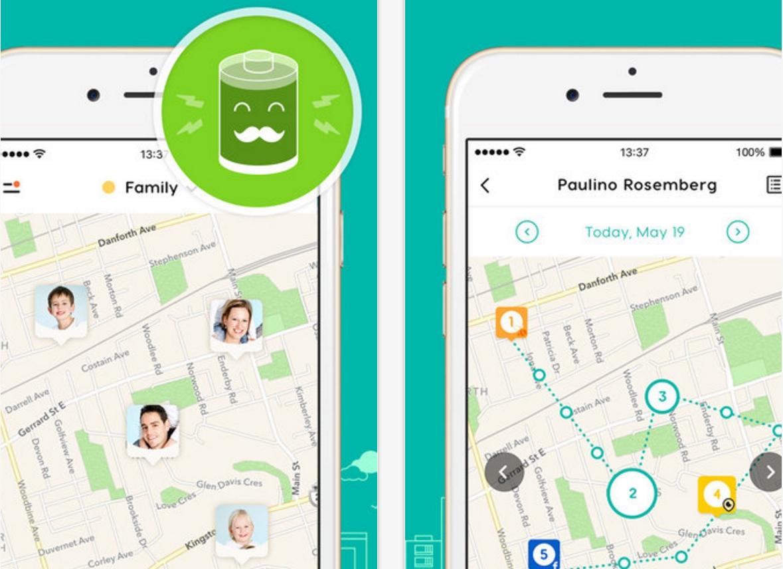 Capture d'écran GeoZilla – Géolocaliser Famille et Amis  iOS