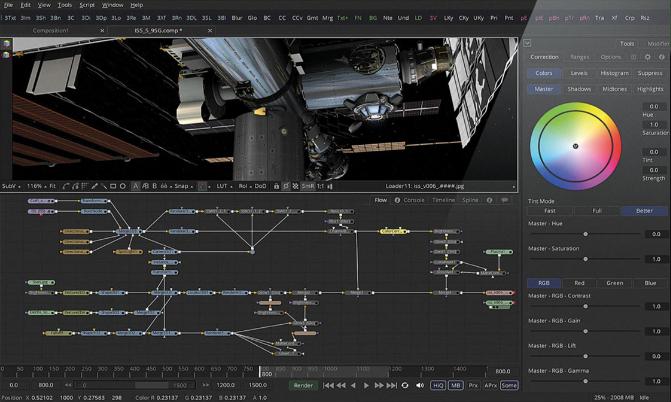 Capture d'écran Fusion 9