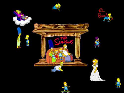 Capture d'écran Les Simpsons