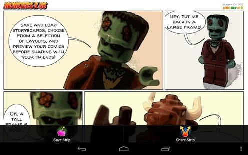 Capture d'écran Comic Strip It! (lite)