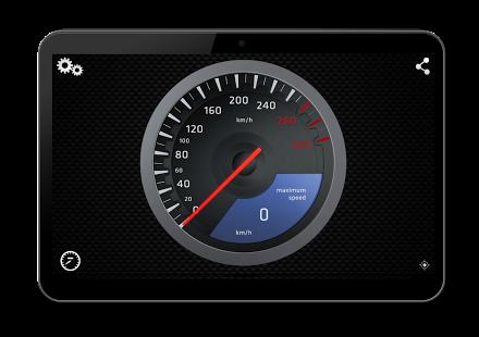 Capture d'écran Supercars Compteur de vitesse