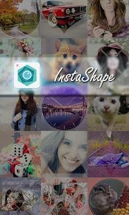 Capture d'écran InstaShape:shape for Instagram