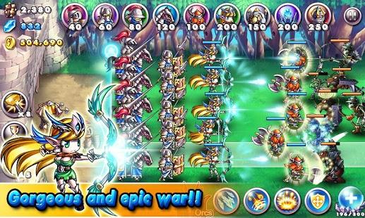 Capture d'écran Empire VS Orcs