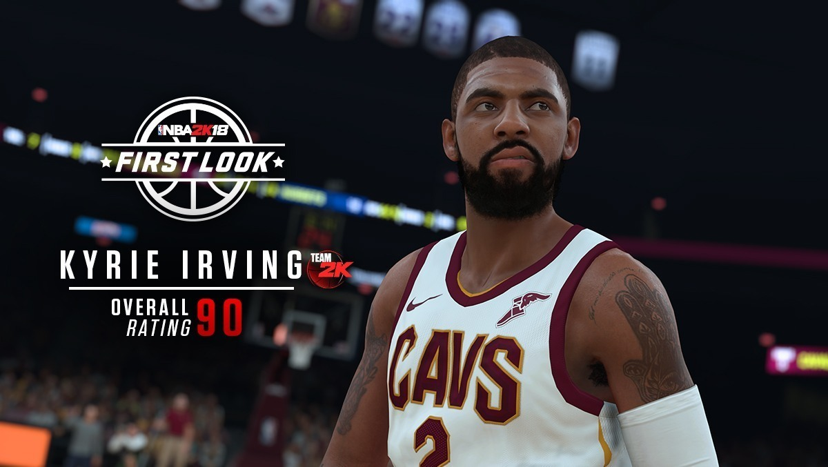Capture d'écran NBA 2k18