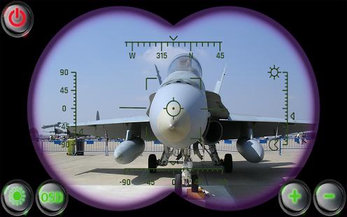 Capture d'écran Jumelles Militaires Simulées