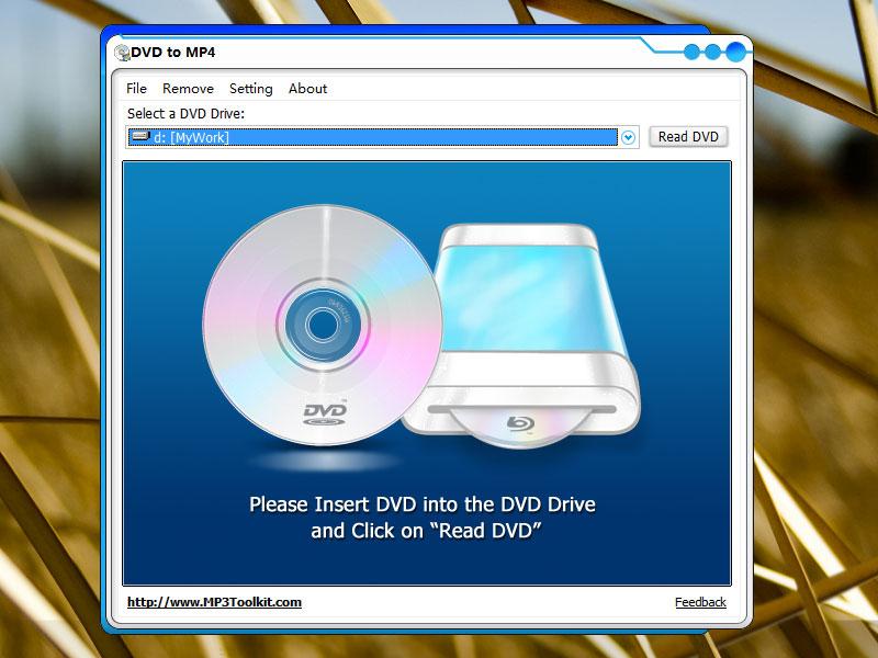 Capture d'écran DVD to MP4