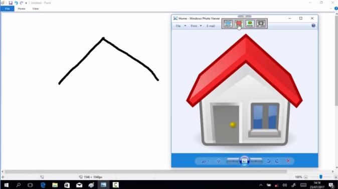 Capture d'écran WindowTop
